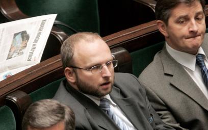 Tomasz Markowski znów chciałby być w PiS. Na zdjęciu (z lewej) jako poseł tej partii, obok Marek Kuc