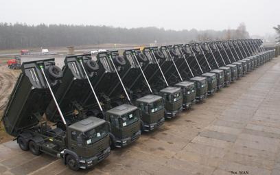 W minionych latach Wojsko Polskie kupowało wywrotki odpowiadające specyfikacji niedawno rozstrzygnię