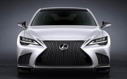Zmodernizowany Lexus LS. Kosztuje więcej od niemieckiej konkurencji