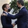 Emmanuel Macron i Kyriakos Mitsotakis
