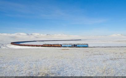 Rosną przewozy mongolskich kolei