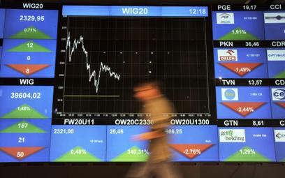 Na zamknięciu WIG20 zwyżkował o 0,16 proc.