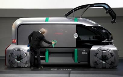Autonomiczne auta to przyszłość motoryzacji. Na zdjęciu projekt Renault EZ-Pro
