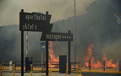 Andaluzja płonie – trwa ewakuacja turystów
