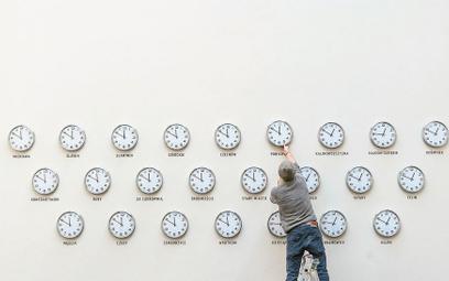 Instalacja artystyczna Czas na Kulturę w lubelskim Centrum Kultury