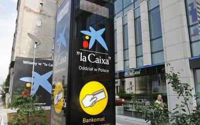 Hiszpańska La Caixa na Prostej w Warszawie