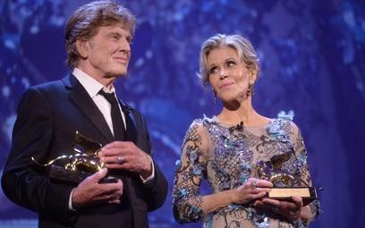 Jane Fonda i Robert Redford dostali w Wenecji Złote Lwy