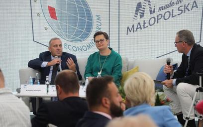 Koalicja Obywatelska o głosy w wyborach samorządowych walczyła także podczas Forum w Krynicy
