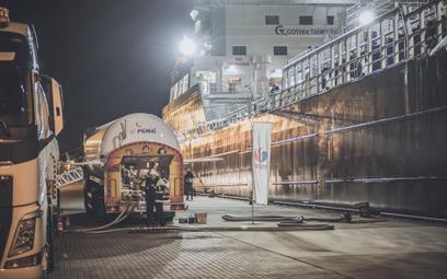 PGNiG i Lotos dostarczają LNG do zasilania statków