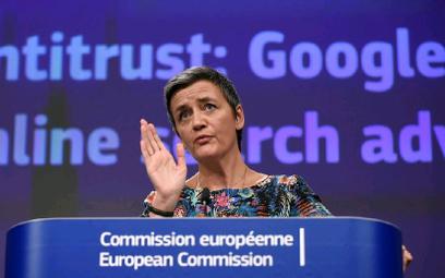 Kary dla Google'a to – w sensie kwotowym – najważniejsze decyzje obecnej komisarz ds. konkurencji, D