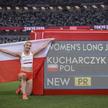 Karolina Kucharczyk zdobyła złoty medal w skoku w dal