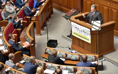 Ukraina: Parlament potępił uchwałę Polski w sprawie Wołynia