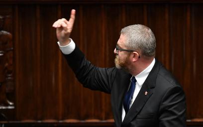 Adam Niedzielski poinformował prokuraturę o groźbach Grzegorza Brauna