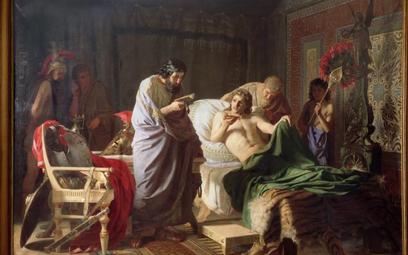"""""""Aleksander Macedoński i jego lekarz Filip"""" – obraz Henryka Siemiradzkiego (1870 r.)"""