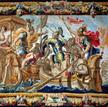 Bitwa pod Akcjum, tapiseria z Flandrii według obrazu Justusa van Egmonta, ok. 1680 r.