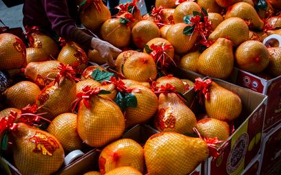 Mały popyt na owoce w azjatycki nowy rok
