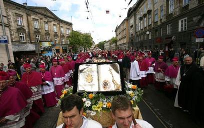 Procesja ku czci świętego Stanisława