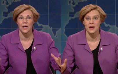 Jedna z liderek Demokratów senator Elizabeth Warren też padła ofiarą fejkowej prowokacji