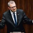 Grzegorz Braun permanentnie odmawia zasłaniania twarzy w Sejmie