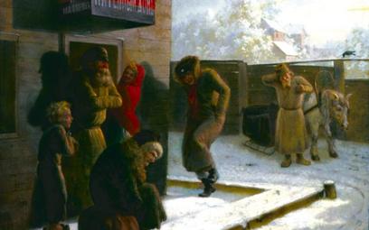 W XIX-wiecznej Rosji podstawową jednostką obrotu alkoholem było wiadro, czyli ok. 16,5 litra.