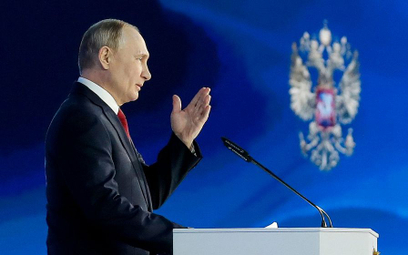 """Putin zapowiada walkę z """"próbami przepisania historii"""""""