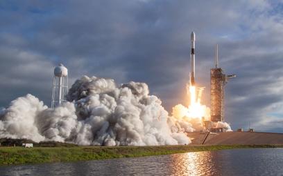 SpaceX Elona Muska wyniósł na orbitę polskie satelity