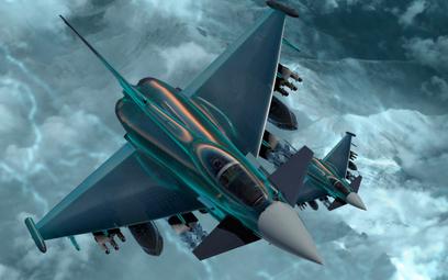 Eurofighter Typhoon przyszłości. Fot./Leonardo