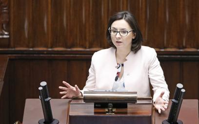 Wczoraj odebrano Kamili Gasiuk-Pihowicz immunitet. Dziś ukarano