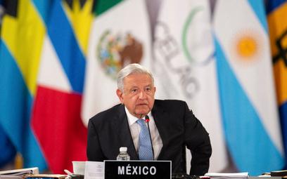 Prezydent Meksyku Andres Manuel Lopez Obrador