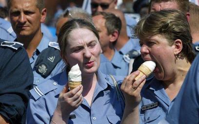 W Polsce jest małe spożycie lodów
