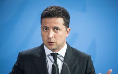 Wołodymyr Zełenski, prezydent Ukrainy