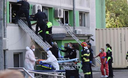 Ewakuacja ze szpitala w Konstancy