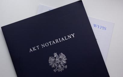 Jedna omyłka bez sankcji dla notariusza
