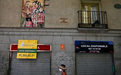 Hiszpania: zaskakująco mocny spadek PKB