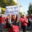 Protest pracowników sądów i prokuratury