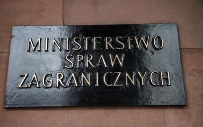 Białoruski chargé d'affaires ponownie wezwany do polskiego MSZ
