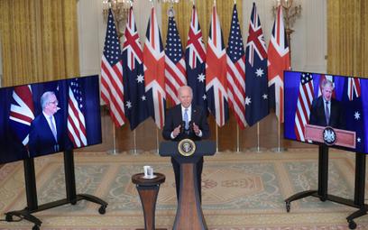 Joe Biden ogłasza nawiązanie partnerstwa między USA, Wielką Brytanią a Australią