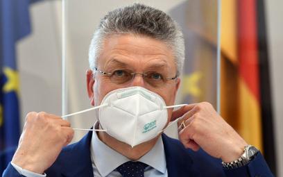 Mikrobiolog Lothar Wieler, szef Instytutu Roberta Kocha