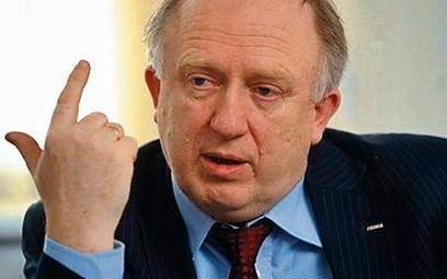 Herbert Wirth jest doceniany przez rynek za nieuleganie żądaniom potężnych związków zawodowych miedz
