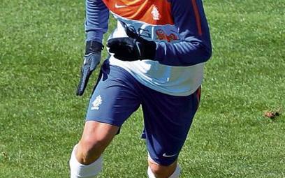 Robben nareszcie trenuje