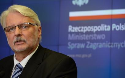 Witold Waszczykowski: Konflikt Andrzej Duda - rząd? Bajki