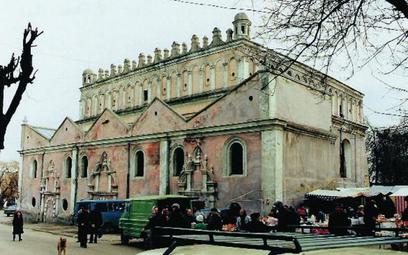 Żółkiew, synagoga z 1. połowy XVII wieku. Zaliczana bywa do tzw. synagog obronnych