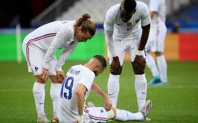 Francja lepsza od Bułgarii. Benzema zszedł z urazem