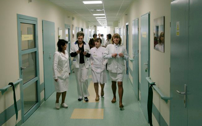 Pielęgniarki z Przemyśla niewpuszczone do Sejmu