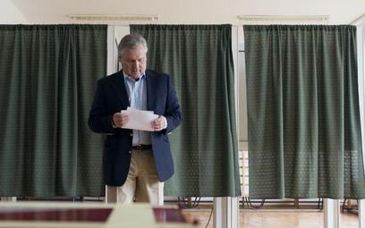 Aleksander Kwaśniewski, pierwsza tura wyborów