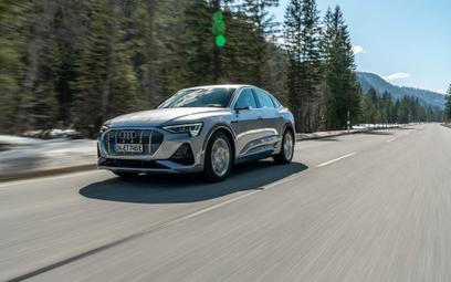 Audi e-tron Sportback: dobra energia