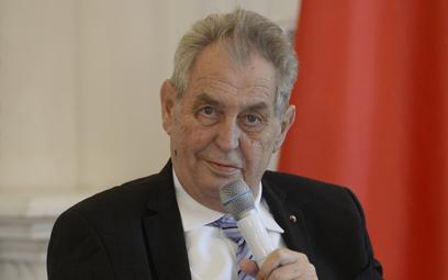 Prezydent Republiki Czeskiej Miloš Zeman