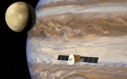 Jupiter Icy Moon Explorer (JUICE). Sonda Europejskiej Agencji Kosmicznej przeznaczona do poszukiwani