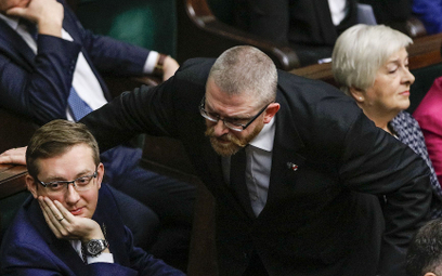 Maksymalna kara dla posła Brauna za słowa pod adresem ministra Niedzielskiego
