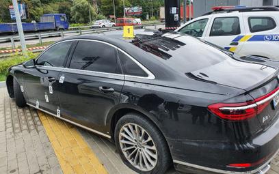Ostrzelany samochód współpracownika prezydenta Ukrainy